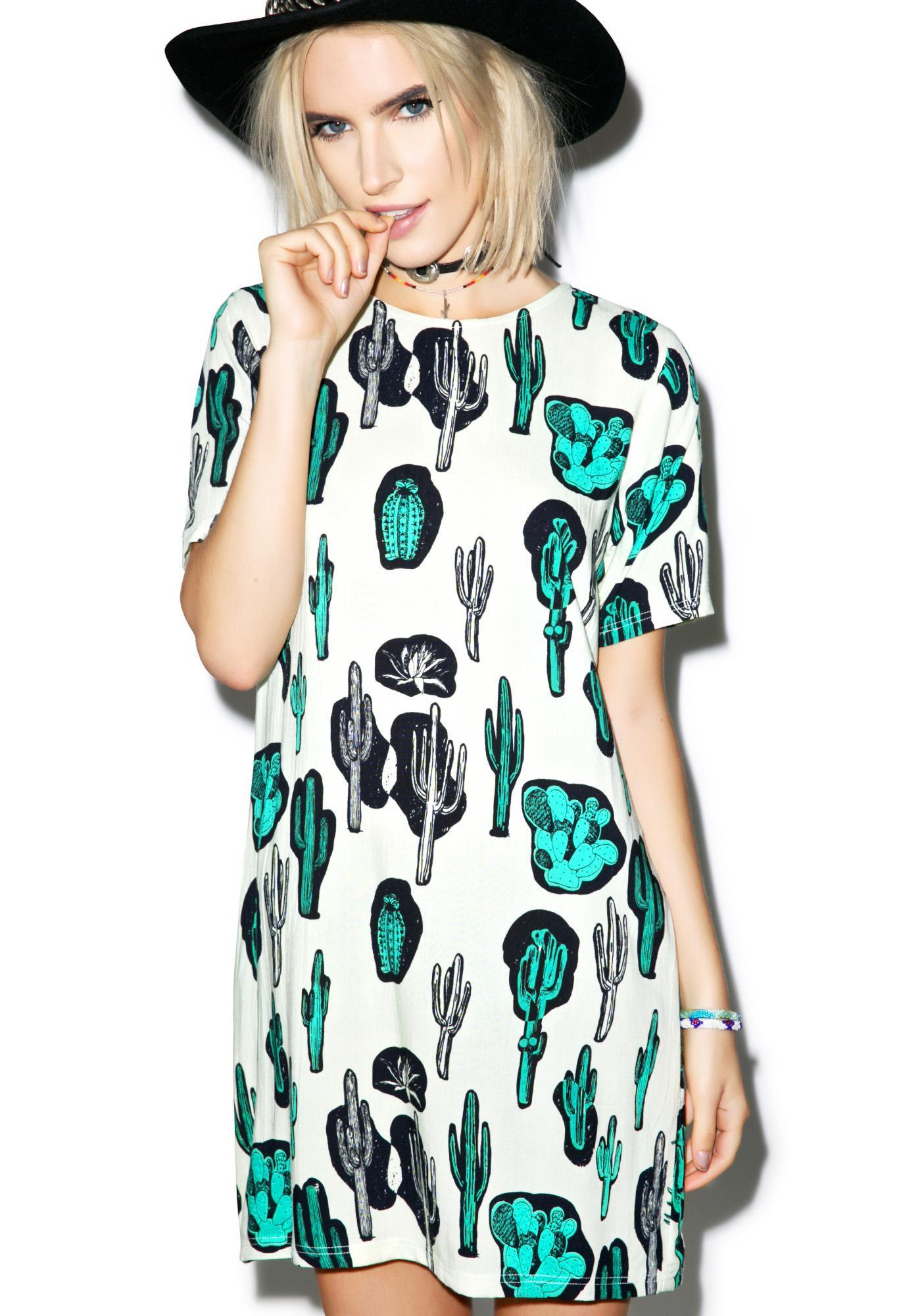 Motel Josephine Cactus Dress