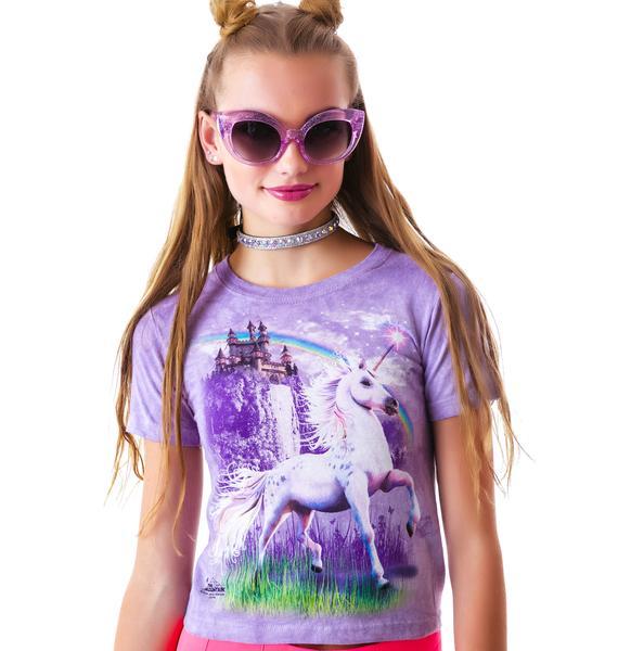 Unicorn Castle Tee