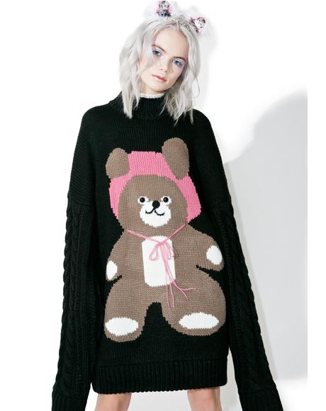 I Am A Bear Knit Dress