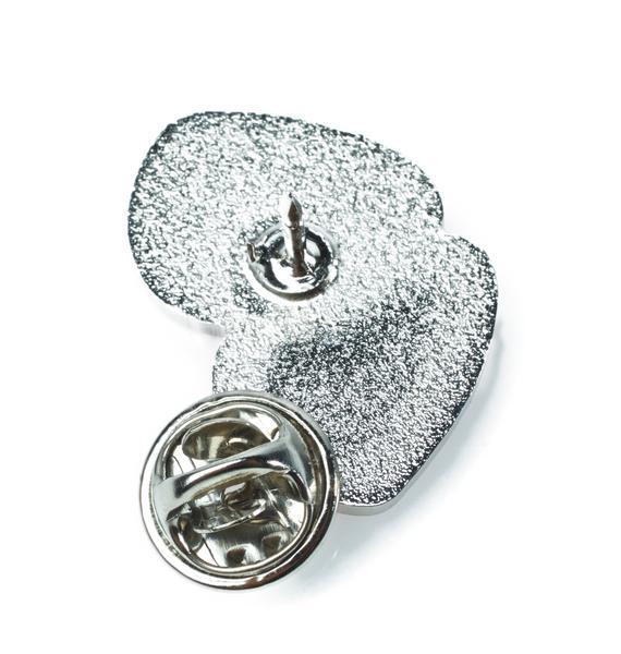 Laser Kitten Love Sparkle Blush Pin