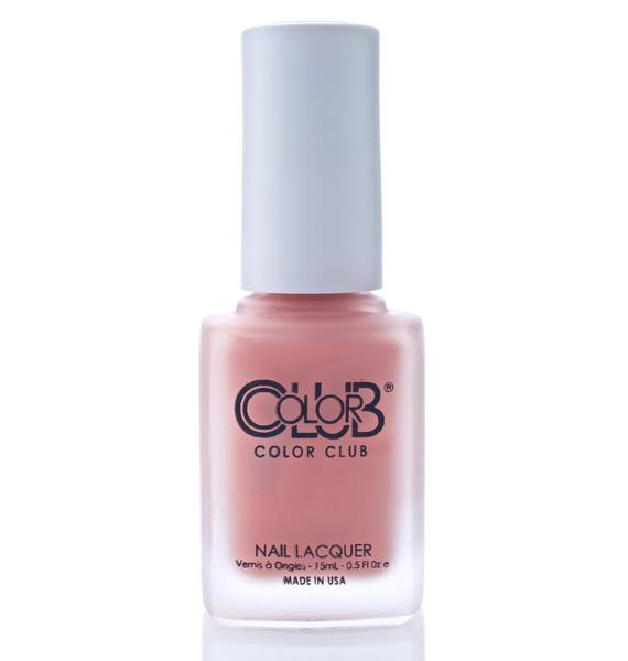 Color Club Spin The Bottle Matte Rouge Nail Polish