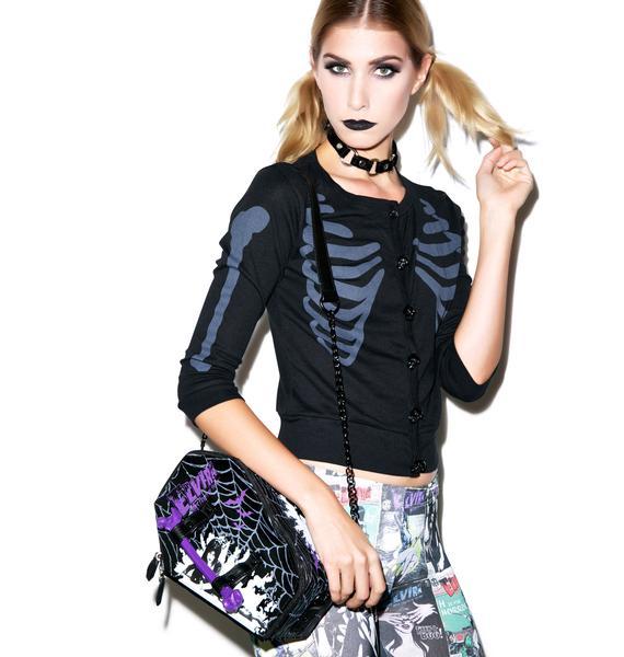 Kreepsville 666 Elvira Web Coffin Bag