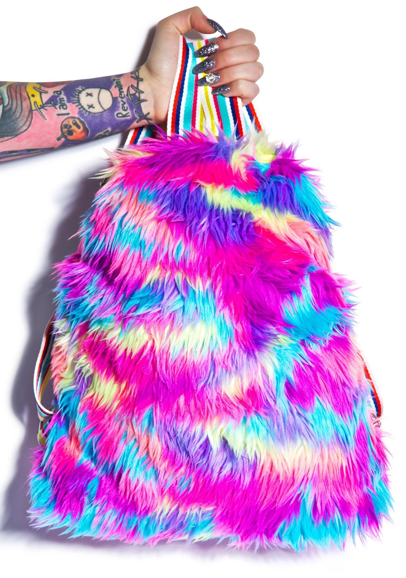 Big Ol' Furry Backpack