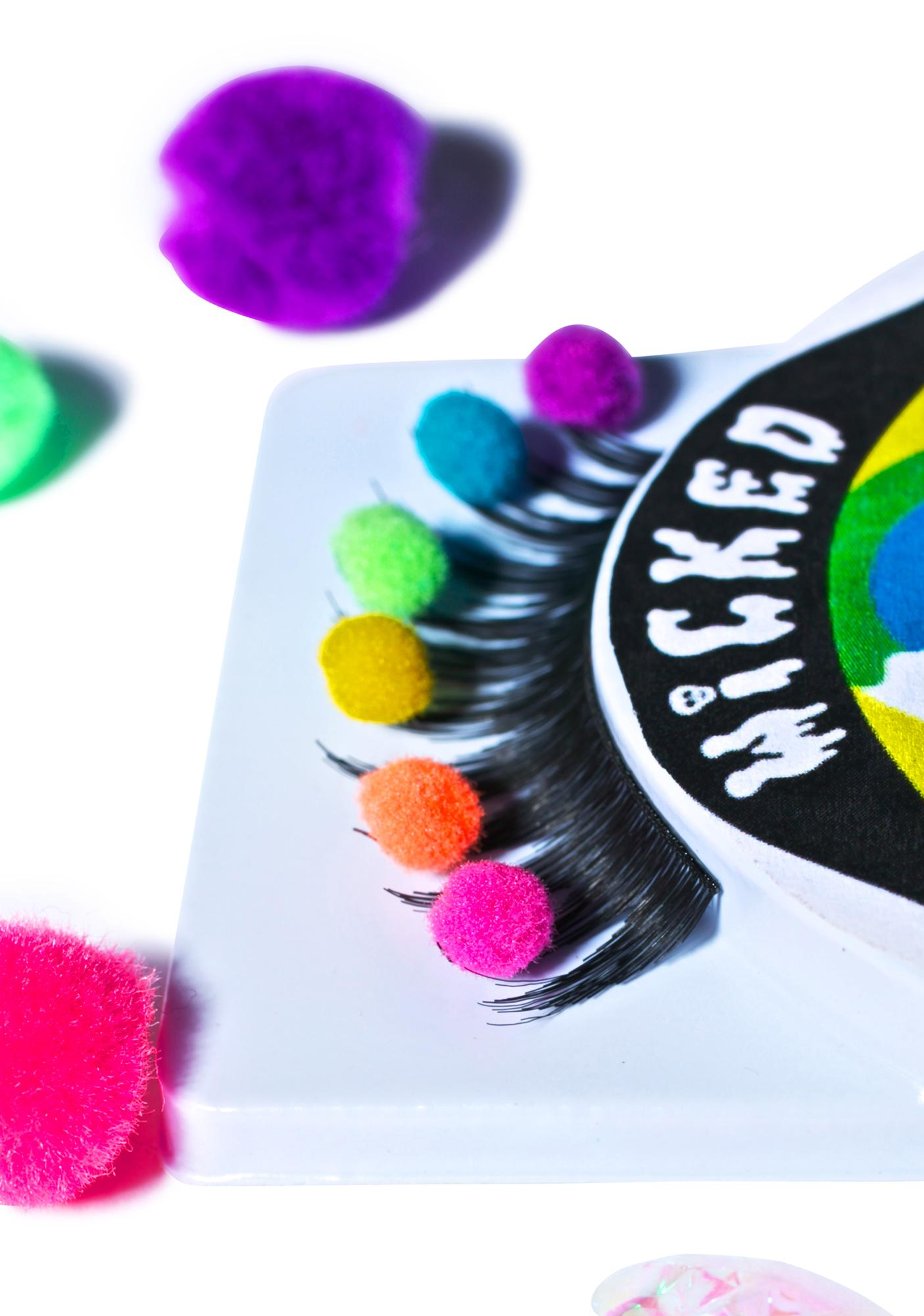 Wicked Hippie Gimme A Pom Pom Lashes