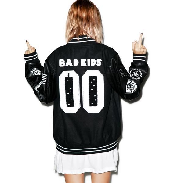Reason Bad Kids Varsity Jacket