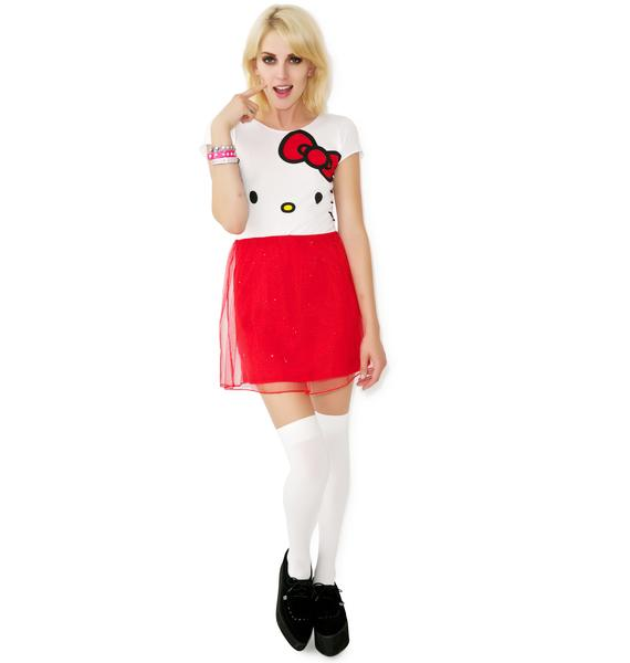 I Am Surprised Hello Kitty Dress