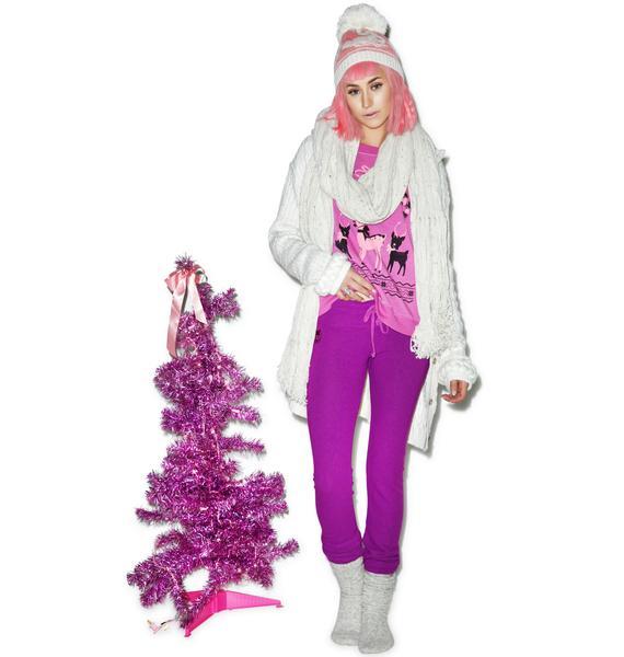 Wildfox Couture Essentials Malibu Skinny Sweats