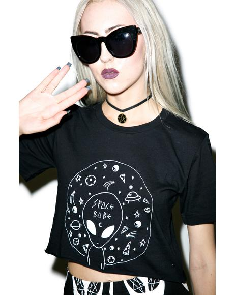 Space Babe Crop Top