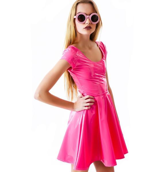 Bubblicious Skater Dress