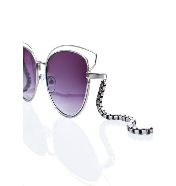 My Willows Be Here Meow Sunglasses