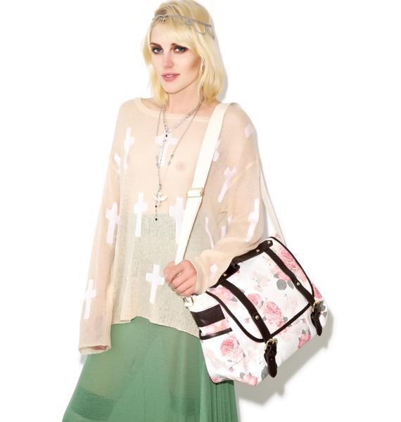 Wildfox Couture Austen Rose Messenger Bag