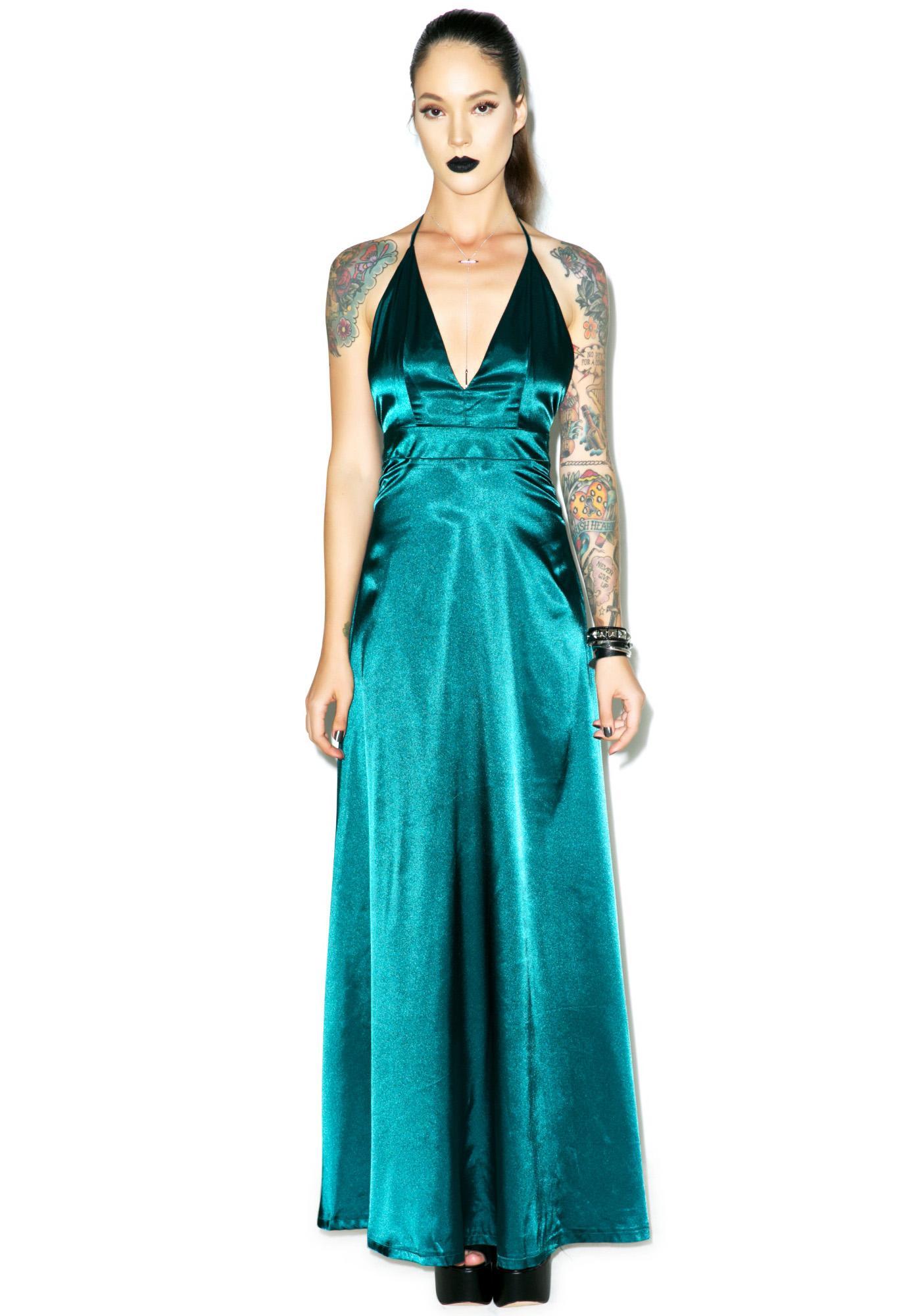 Emerald City Maxi Dress