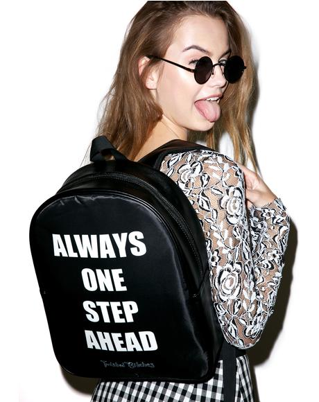 One Step Ahead Backpack