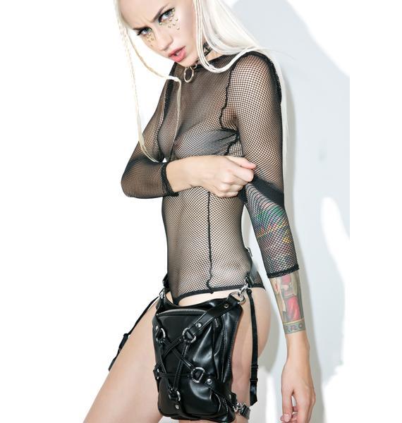 Sentry Fishnet Bodysuit