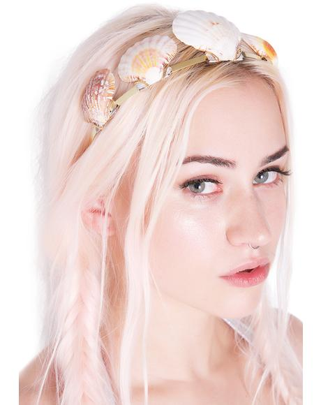 Shell Queen Metal Headband