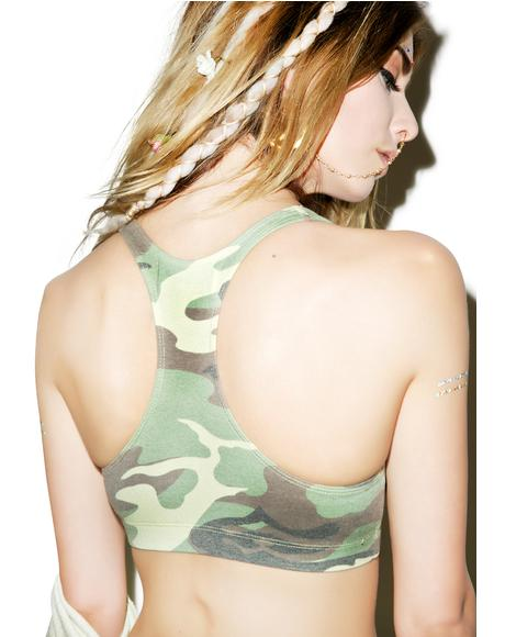 Classic Camo Spice Girl Top