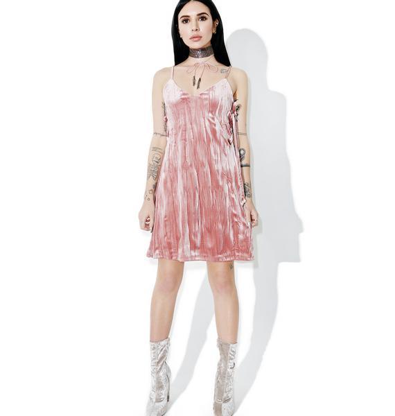 Akiko Velvet Dress