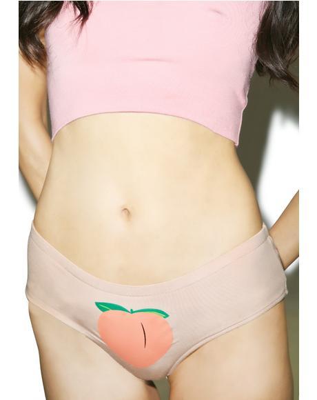 Nude Peachy Booty Panties