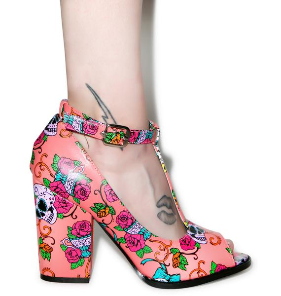 Iron Fist Sweet Tooth Peeptoe Heels