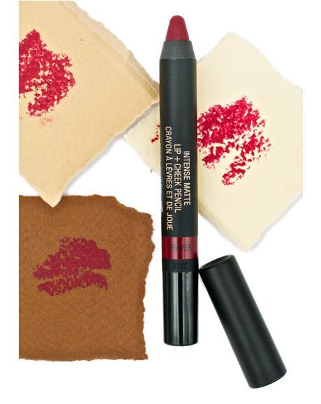 Raven Matte Lip + Cheek Pencil