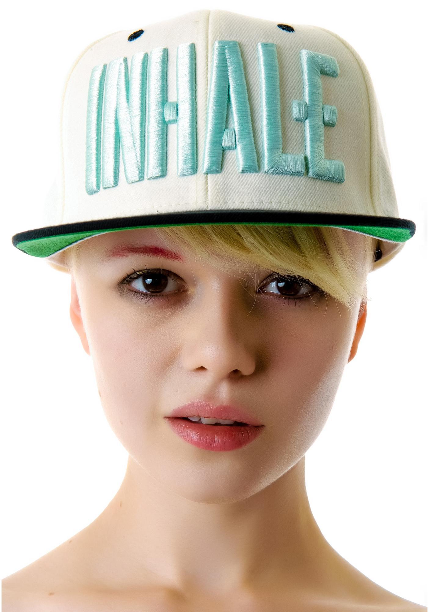 Civil Clothing Inhale Snapback