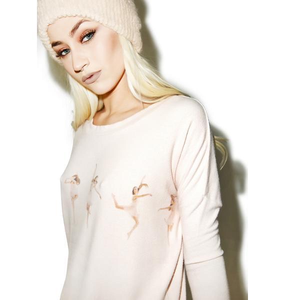 All Things Fabulous Petite Dancer Sweater