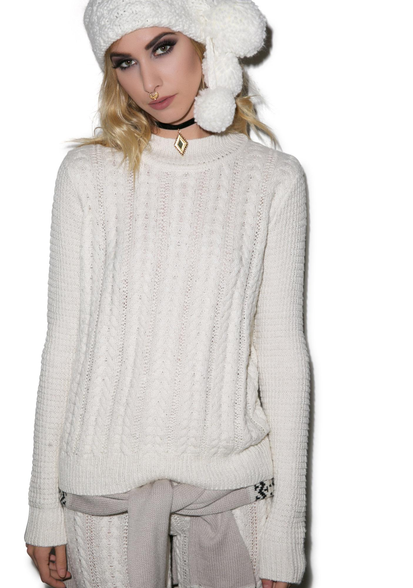 For Love & Lemons Frostine Sweater