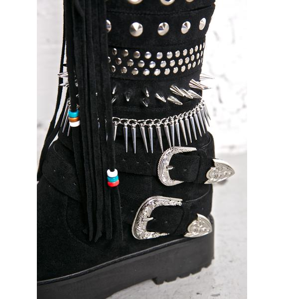 Current Mood Blackhawk Sedona Wedge Boots