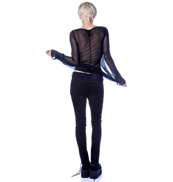 Iron Fist Wishbone Skinny Jeans