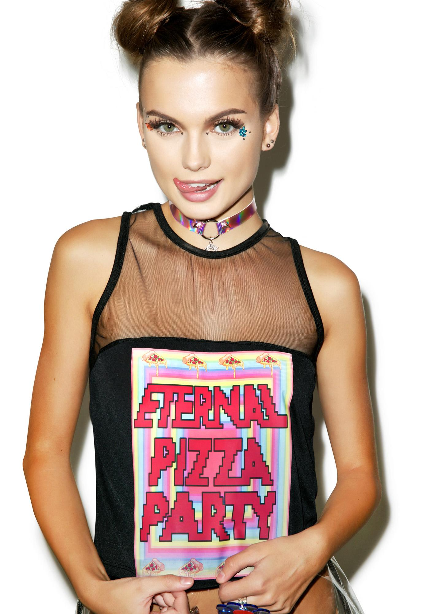 Eternal Pizza Party Tank Top