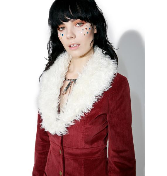 Rumours Faux Fur Coat