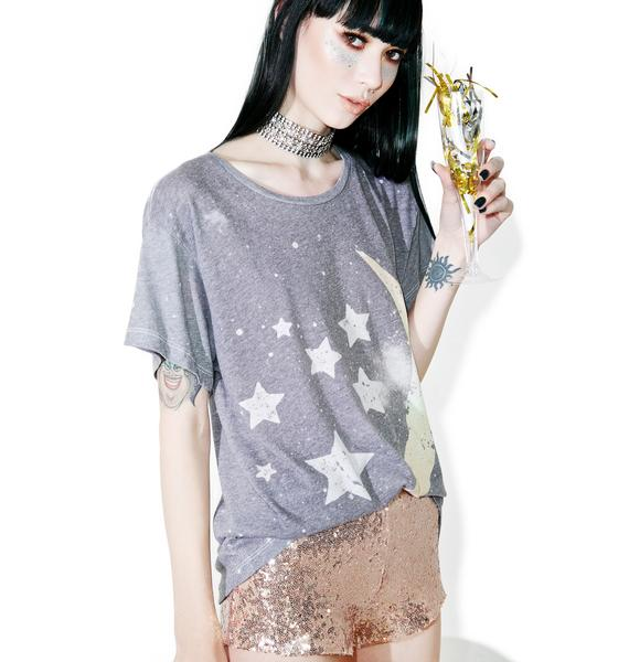 Wildfox Couture Starry Night Manchester Tee