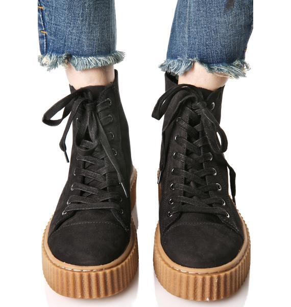J Slides Riva Creeper-Soled Sneakers