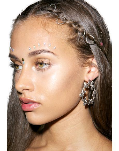 Dark Wreath Earring