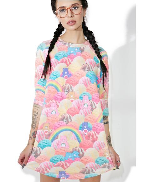 Scoops A Lot Raglan Dress