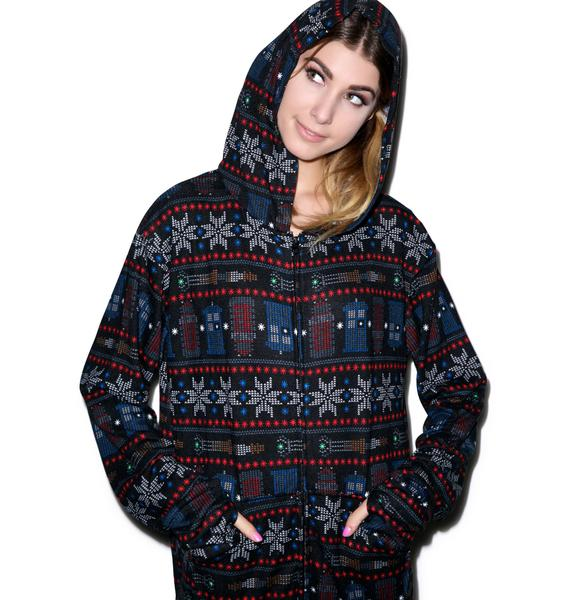 Undergirl Doctor Who Snow Flake Onsie