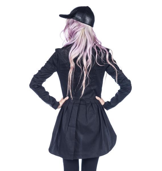 Widow Wax Twill Tuxedo Jacket
