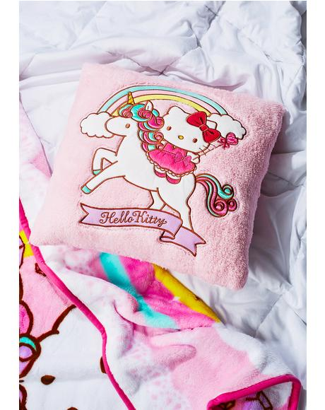 Unicorn Kitty Cushion