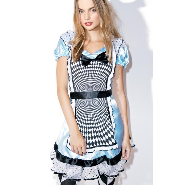 Mesmerizing Miss Alice Costume Set