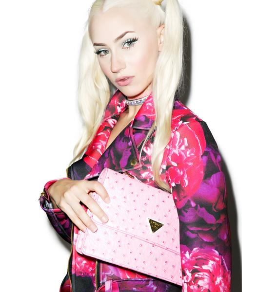 Joyrich Ostrich Shoulder Bag