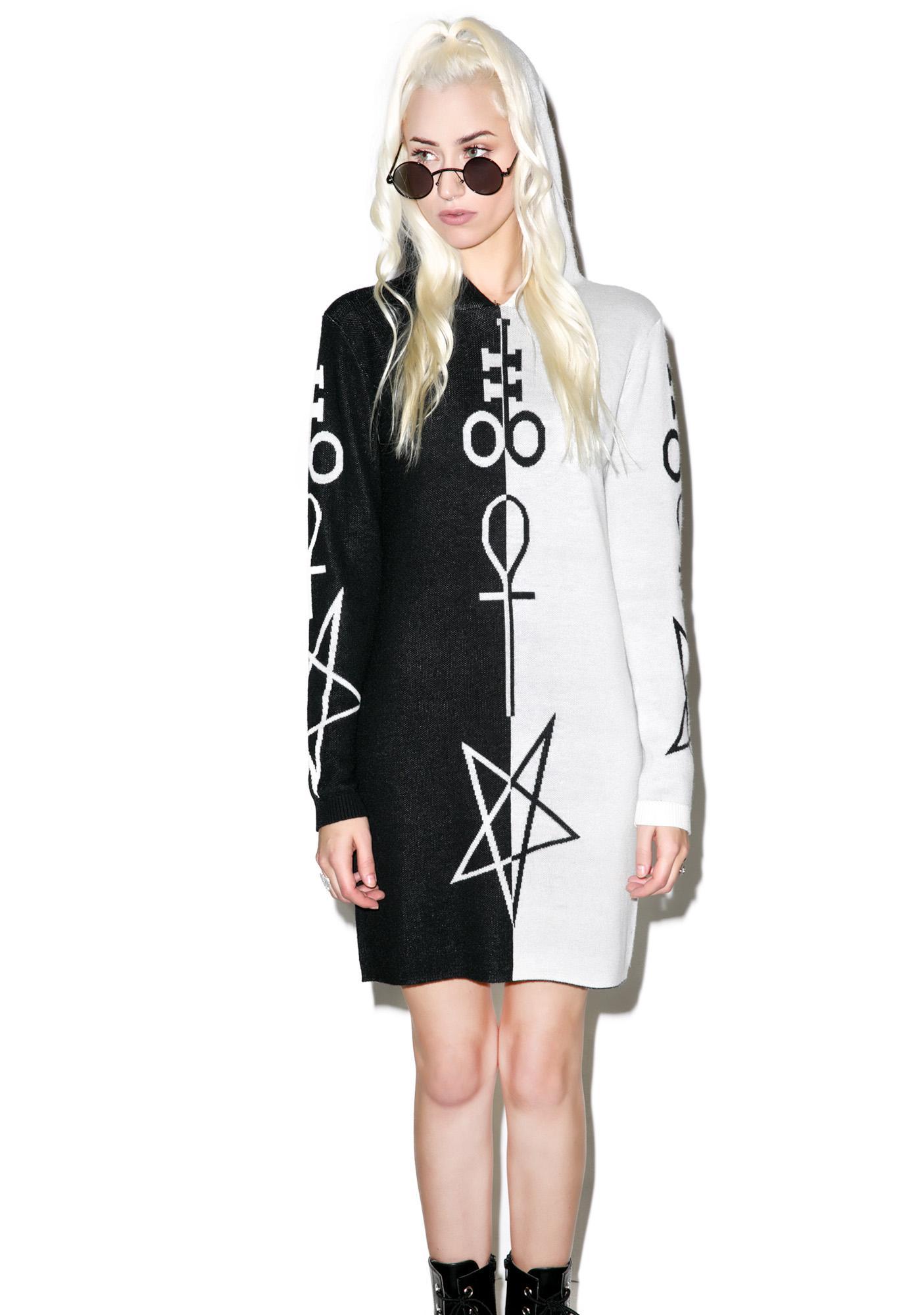 Killstar X Dolls Kill Opposition Hooded Dress