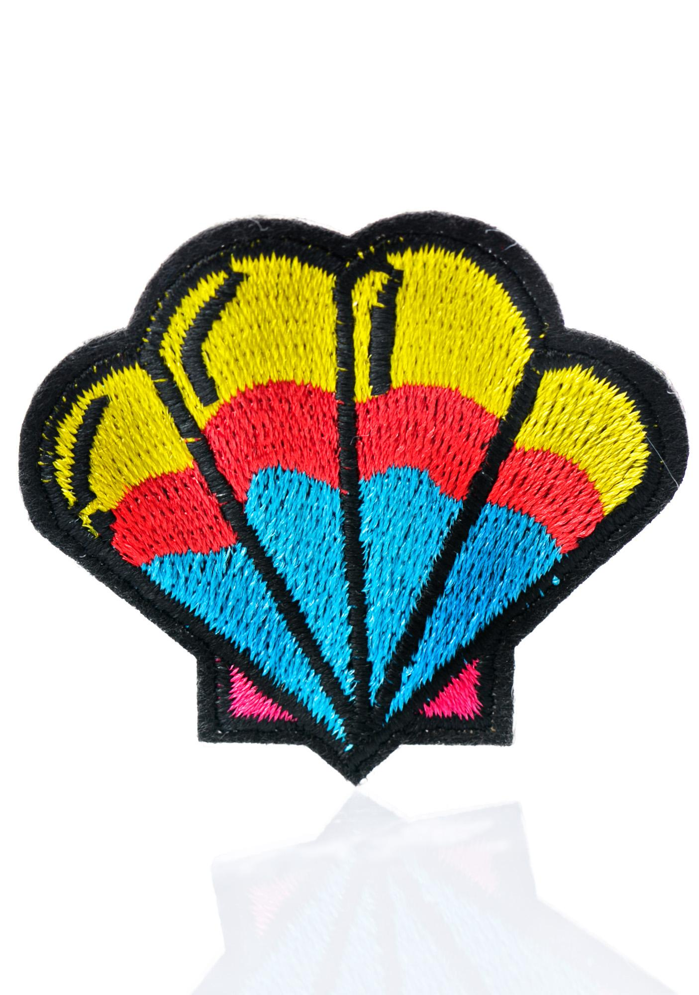 Love And Madness Shell Patch