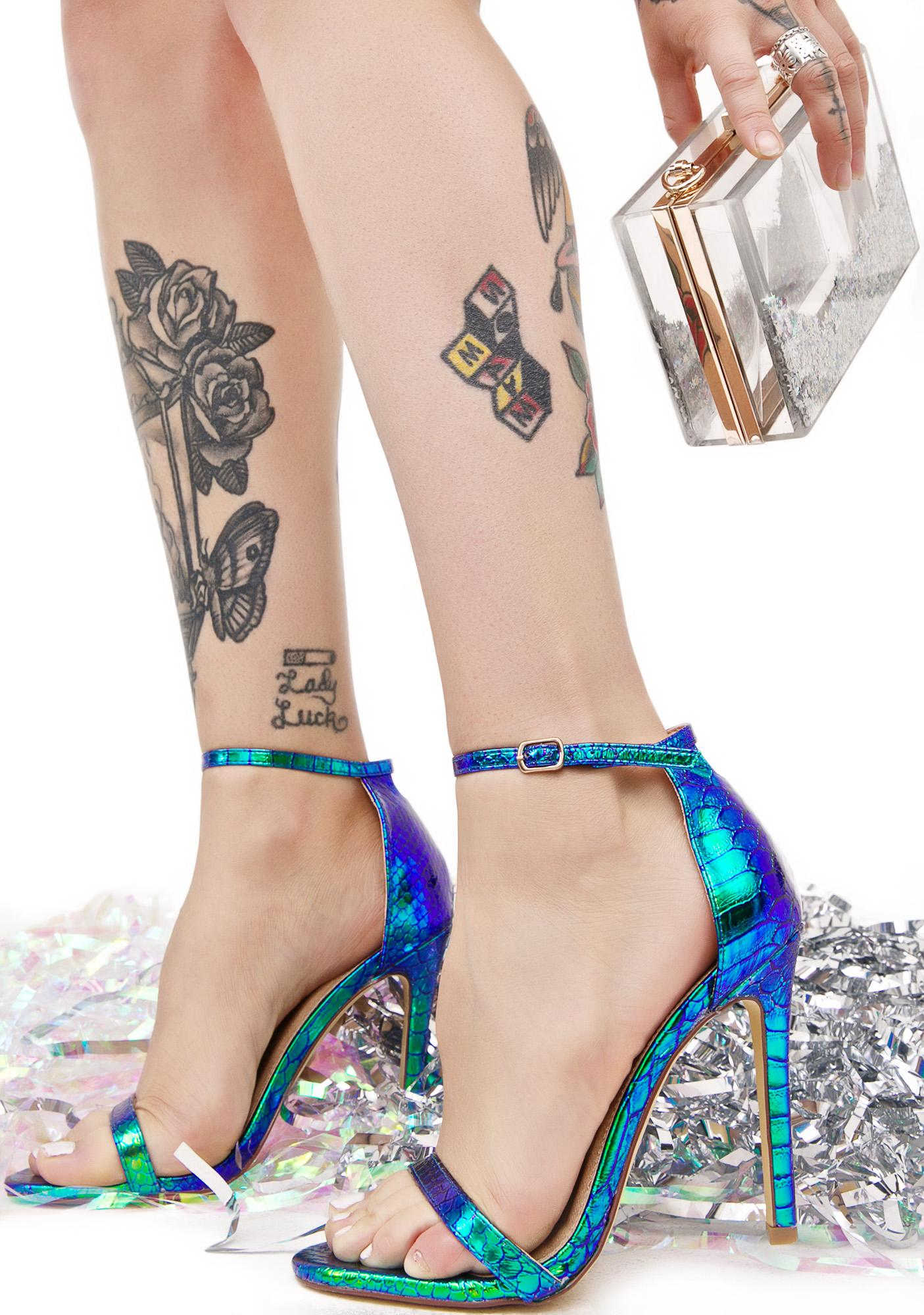 Nereid Strappy Heels