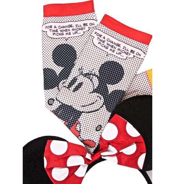 Stance Tick Tock Minnie Socks