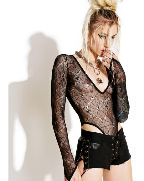 Salvation Lace Bodysuit