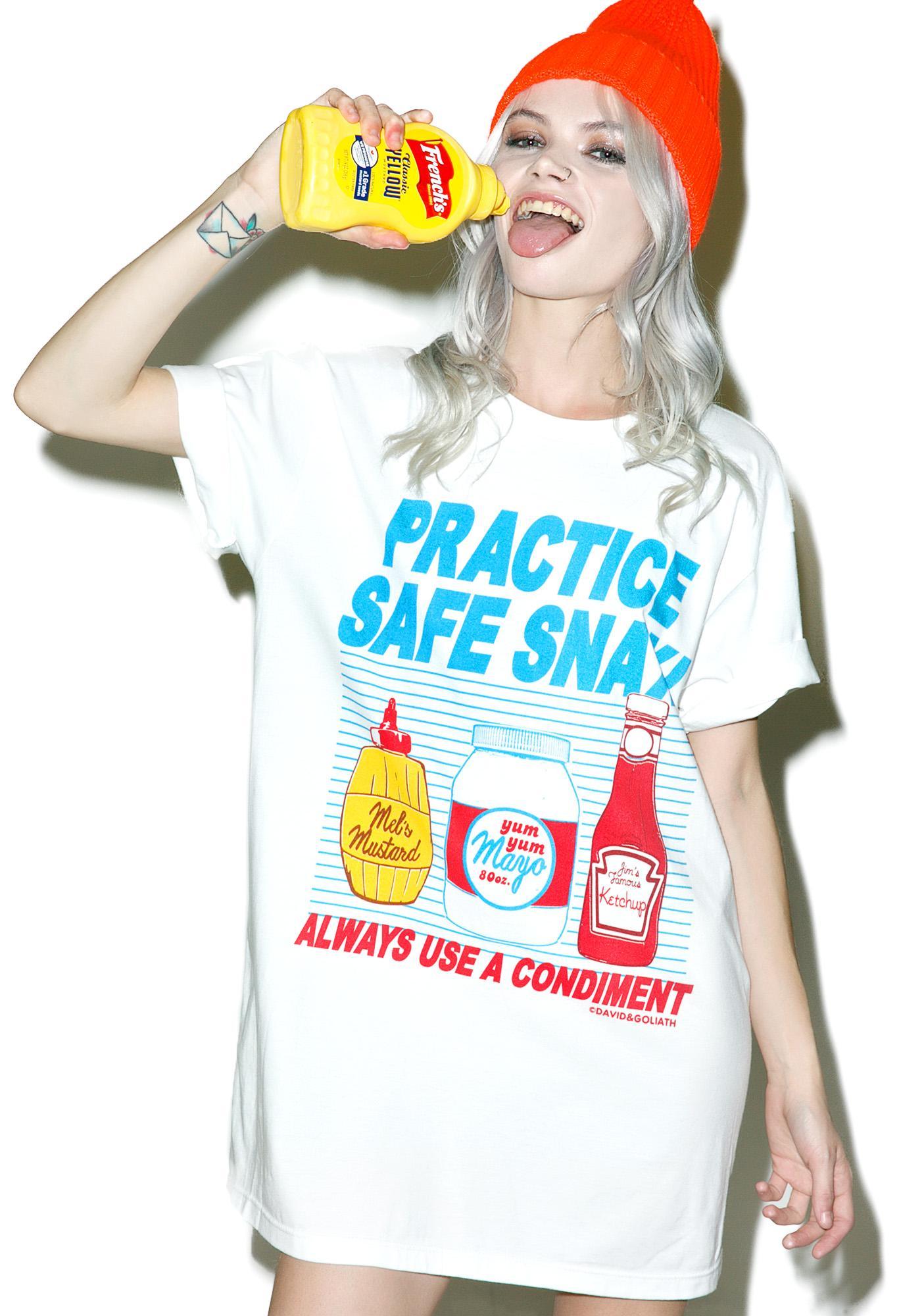Practice Safe Snax Tee