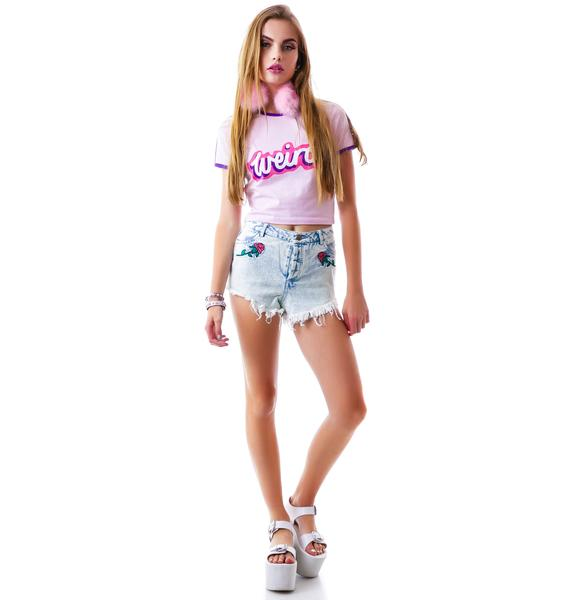 Lazy Oaf Rodeo Rose Shorties