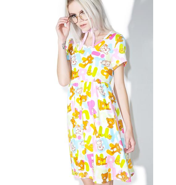 Japan L.A. Rilakkuma Rainbow Dress
