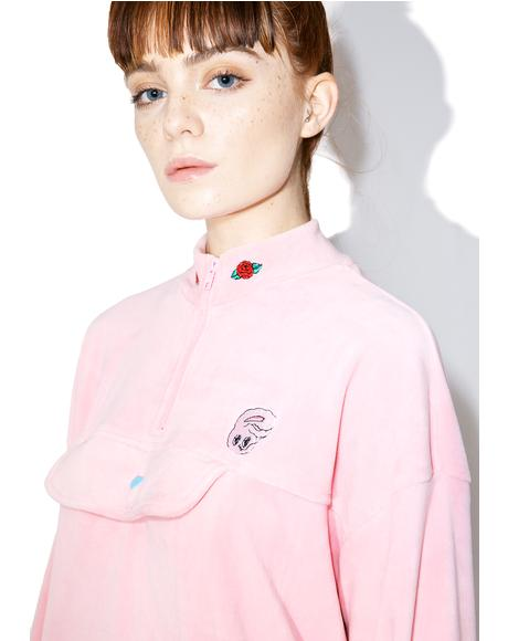 Esther Loves Oaf Heart Popper Sweatshirt