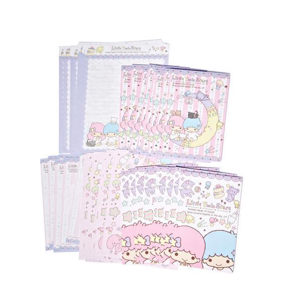 Sanrio Little Twin Stars Letter Set